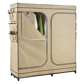 "60"" Double Door Portable Storage Closet : Target Mobile"