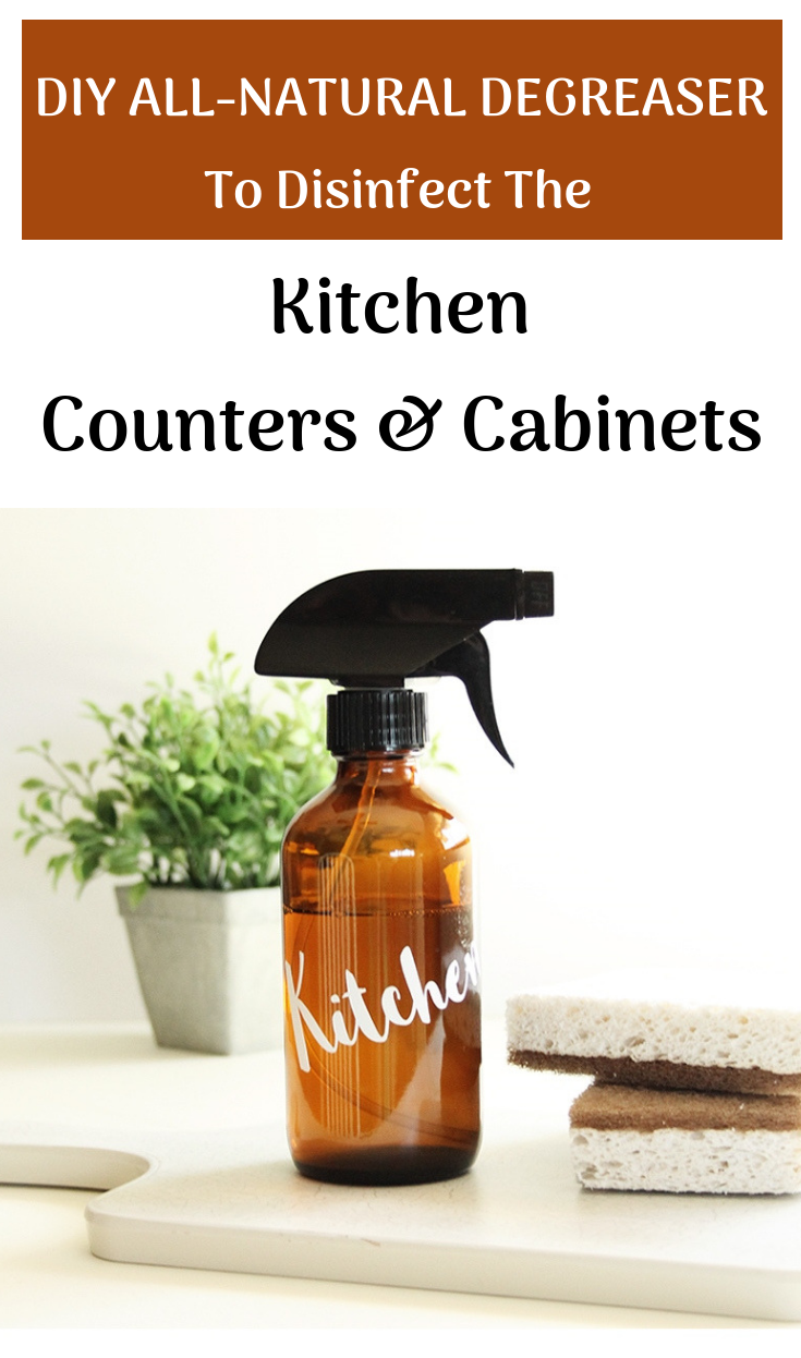 Diy AllNatural Degreaser To Disinfect The Kitchen