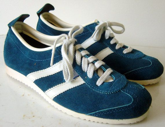 Blue Suede North Star running shoes. I had these! They were awesome.