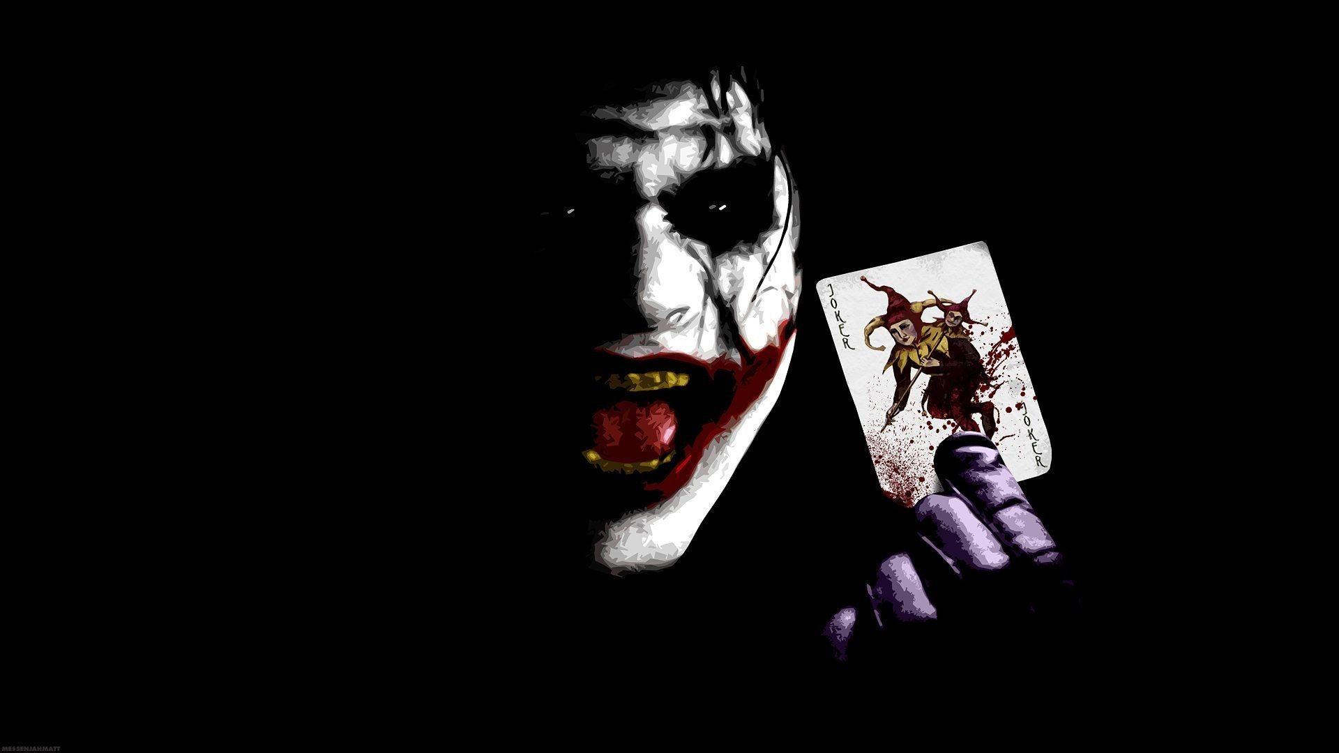 1920x1080 Joker Wallpaper In Dangerous Mod With Joker Card On Joker Wallpaper Joker Wallpapers Wallpaper Joker