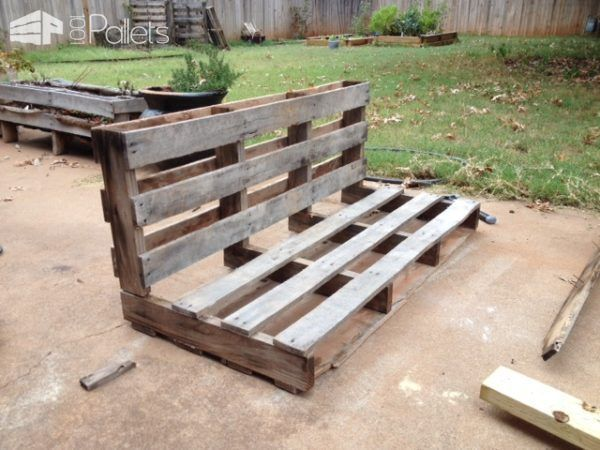 Easy Diy Tutorial Build Install One Pallet Swing Bench With
