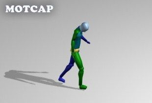 Download - Walking slowly with head down pose - motion capture