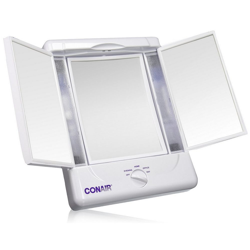 Details About Conair Illumina Collection Two Sided Lighted Make Up