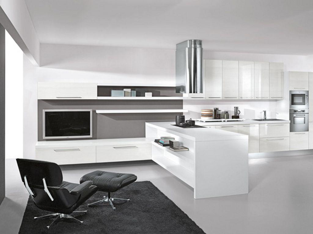 superior modern kitchen livingroom part 2 black and white modern living room ideas - Modern Kitchen Living Room Ideas