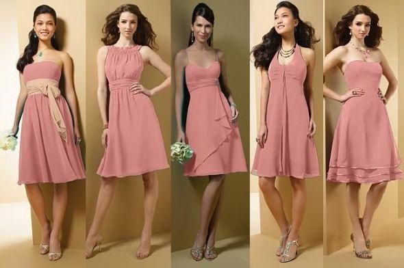 Love the different styles in these dresses.  If only they were in coral.