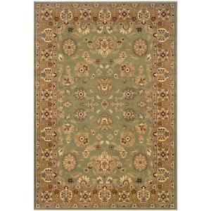 LR Resources Traditional Green and Gold 1 ft. 10 in. x 3 ft. 1 in. Plush Indoor Area Rug-LR80716-GRGO23 at The Home Depot