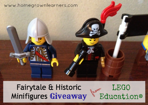 Homegrown Learners - Home - LEGO Education® MinifiguresGiveaway