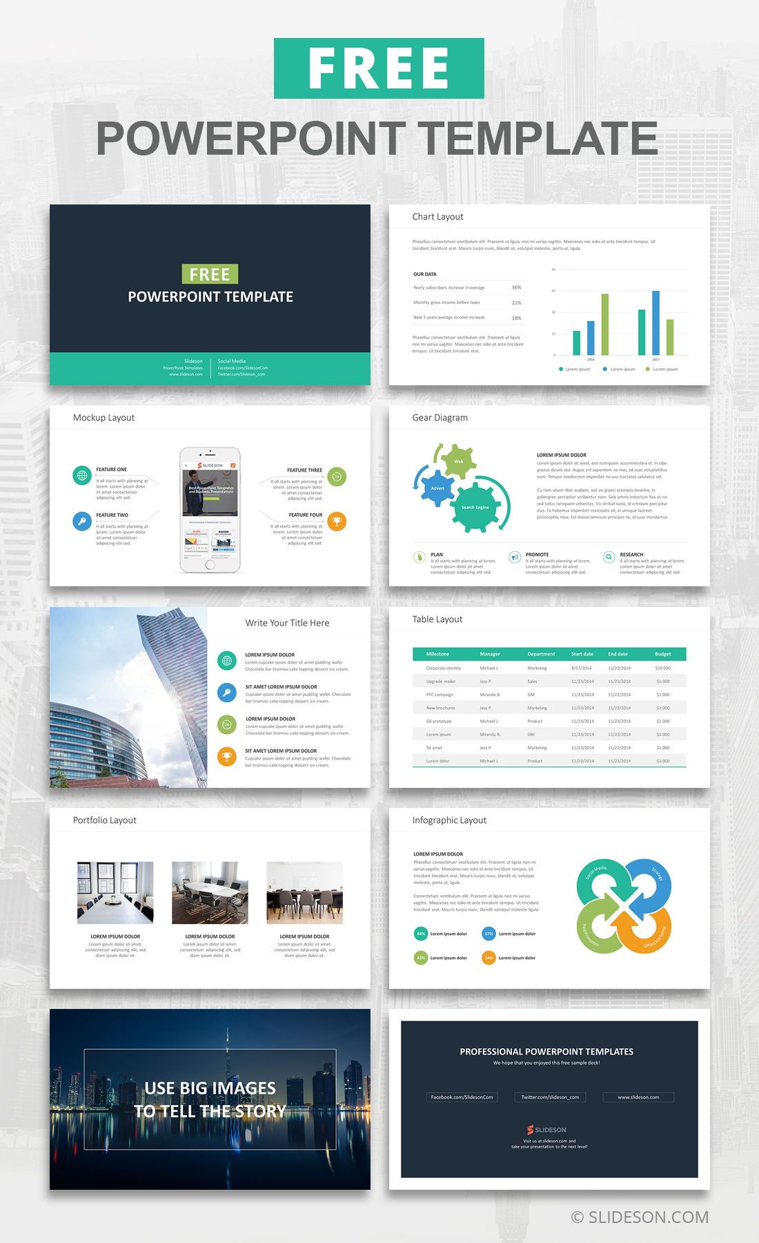 Free PowerPoint Templates and Slides Free powerpoint