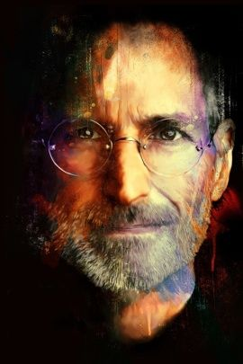 Download Steve Jobs IPhone 4S HD Wallpaper For Your Apple Mobile Phone