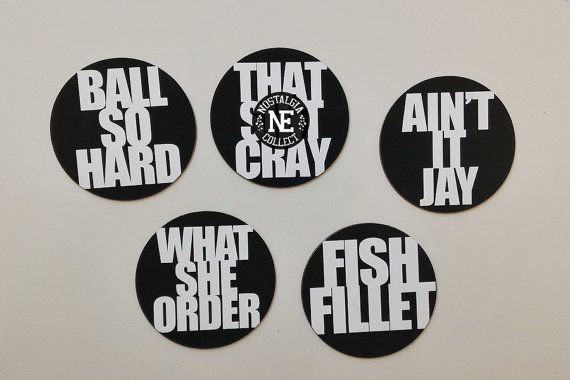 Kanye in Paris 5 Piece Magnets Set: Ball So Hard