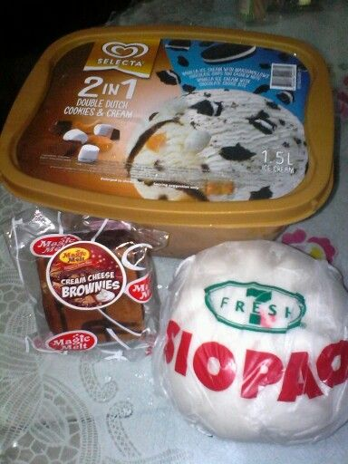 A Congratulations treat for Joy-Joy for passing the college entrance exam at UCC.DD&CC.Siopao.Brownies.711.5-20-15.