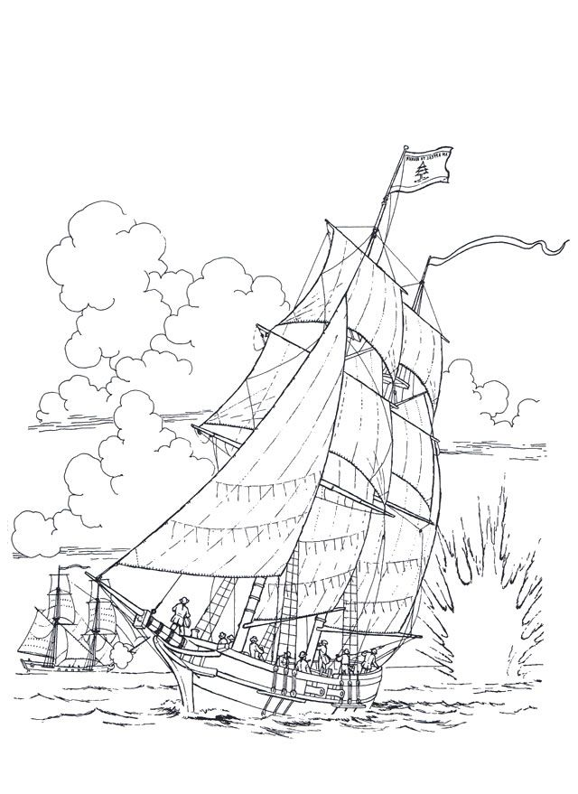 Ships 1 adult coloring pages