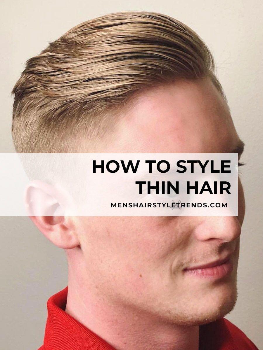 Thinning Hair Men S Hair Loss Questions Answered Hairstyles For Thin Hair Hair Tips For Men Hair Loss Men
