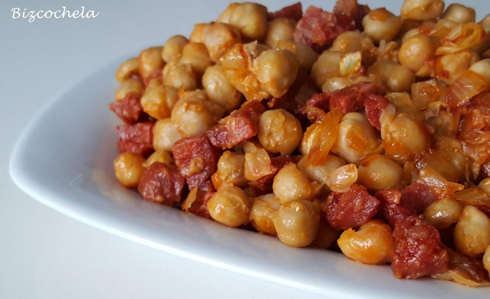Qui n se puede negar a probar estos garbanzos fritos con for Cocinar garbanzos con chorizo