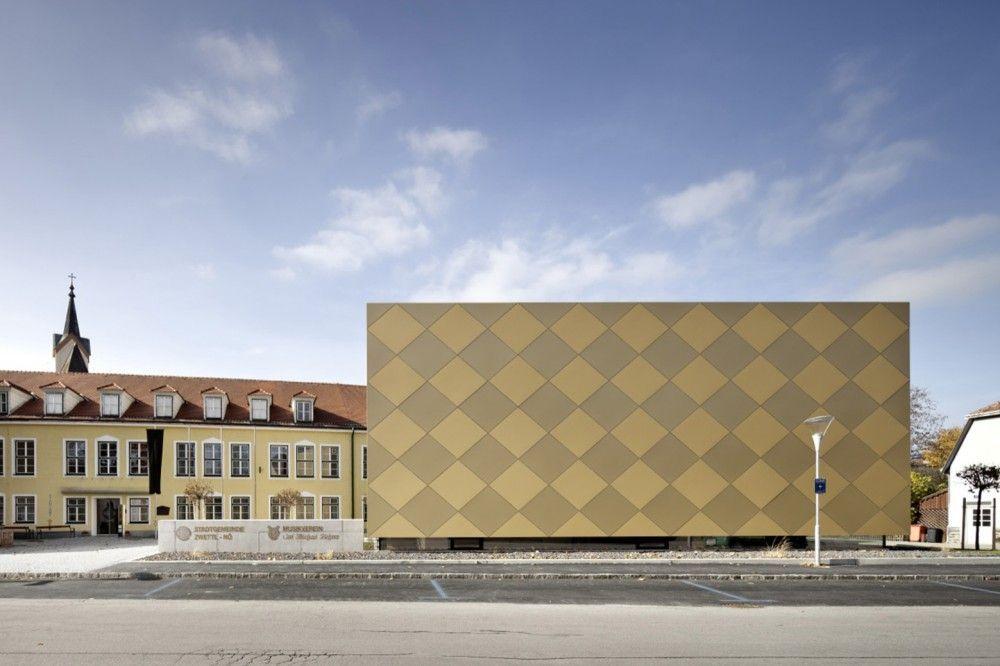 Gallery Of Goldstuck Musikverein Franz Architekten 1 Facade Architecture Architecture Facade Cladding