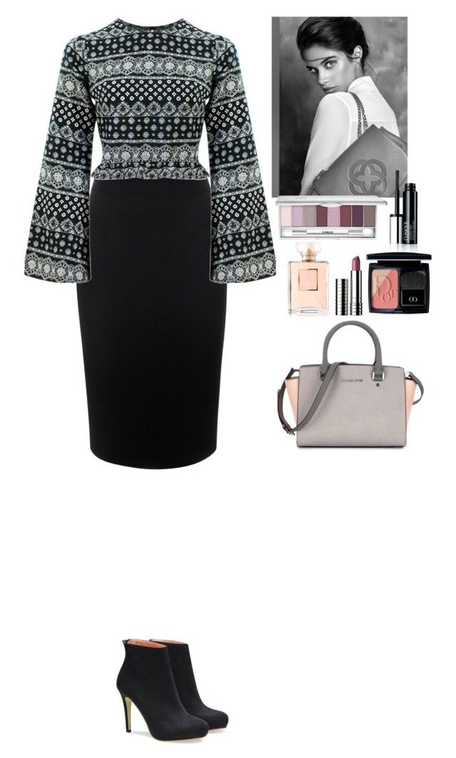 """Outfit"" by eliza-redkina ❤ liked on Polyvore featuring Alexander McQueen, Clinique, Christian Dior, women's clothing, women's fashion, women, female, woman, misses and juniors"