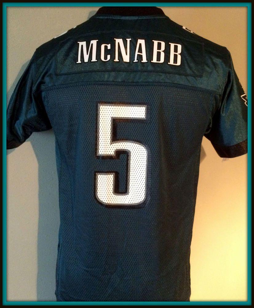 e1d839bce ... Nfl jerseys Donovan mcnabb philadelphia eagles reebok replica on field  jersey youth large Minnesota Vikings Mens Size ...