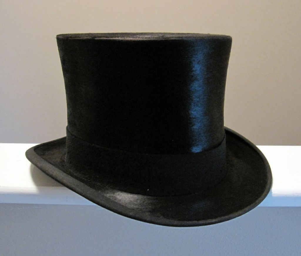 f8841adbba4251 Top Hat Beaver Silk Lock & Co London 1920's Box | Classic Vogue ...