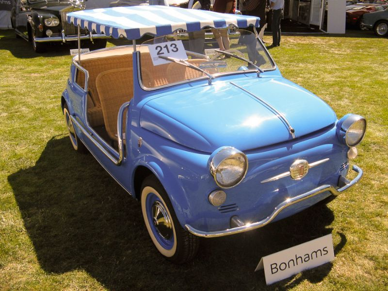 1959 Fiat 500 Jolly Body By Ghia Fiat 500 Fiat Auction