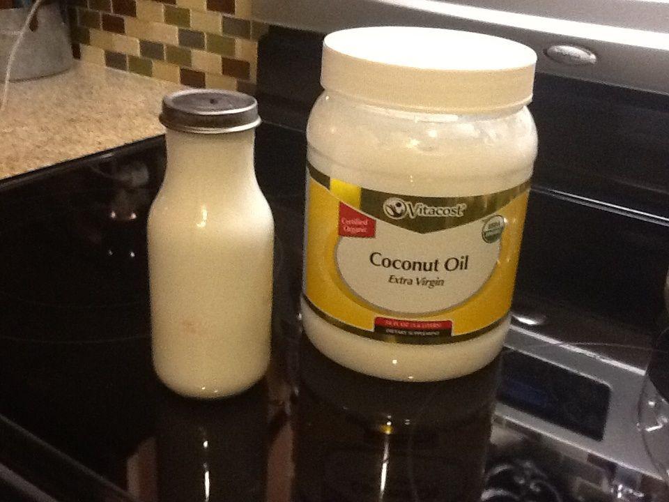 Coconut milk coconut oil whole30 coffee creamer
