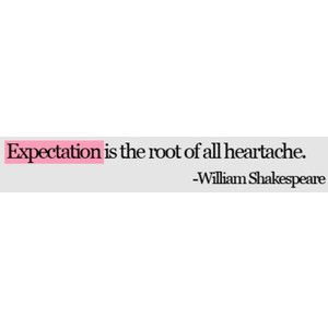 Amen.  Let go of expectations that don't match who you are anymore.