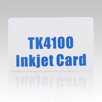 125khz Tk4100 Rfid Id Inkjet Pvc Card For Epson And Canon Printer Inkjet Printable Cards Plastic Card