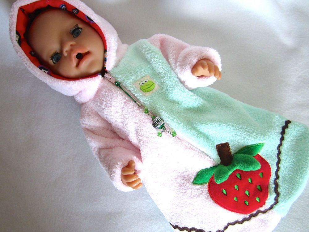 f r baby born 43 schlafsack erdbeere dolls equipment pinterest baby born and dolls. Black Bedroom Furniture Sets. Home Design Ideas