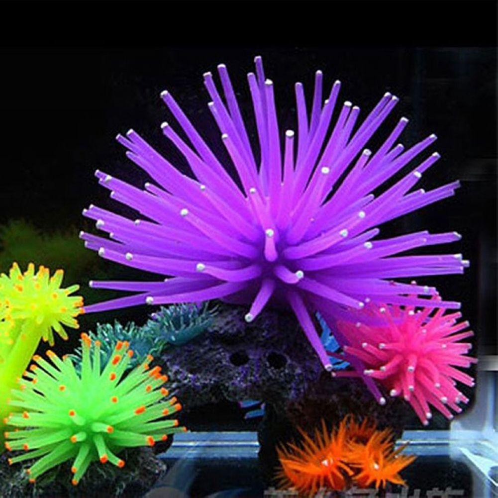 Silicone Aquarium Decoration Fish Tank Artificial C Plant Underwater Ornament Decor Accessories Decorations As0107