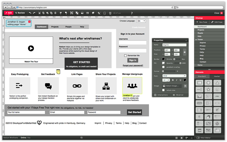 5 Most Easy To Use Wireframe Design Tools For Free Wireframe Prototyping Tools Wireframe Design