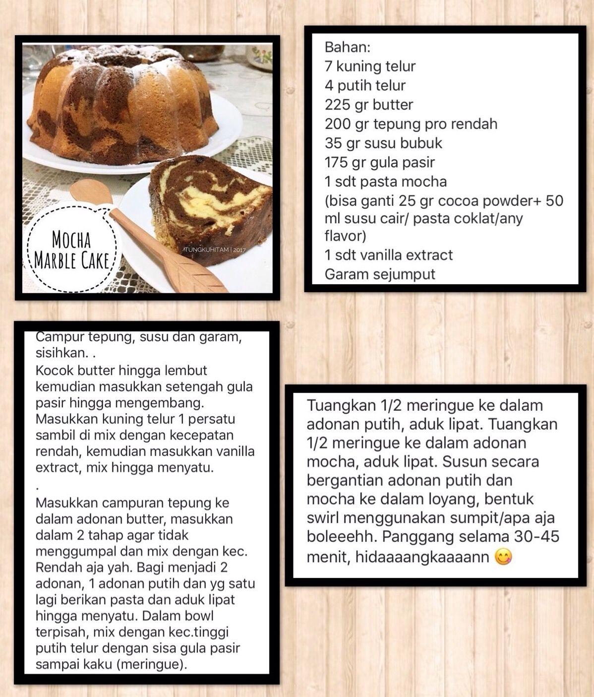 Pin Oleh Giok Ay Di Kue Makanan Resep Kue