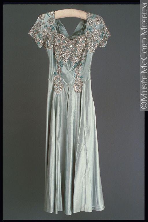 Evening Dress Norman Hartnell Ca 1952 Vintage