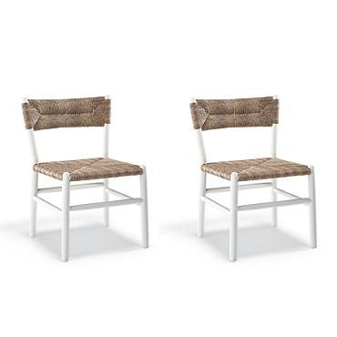 Set Of Two St. James Dining Side Chairs From Frontgate