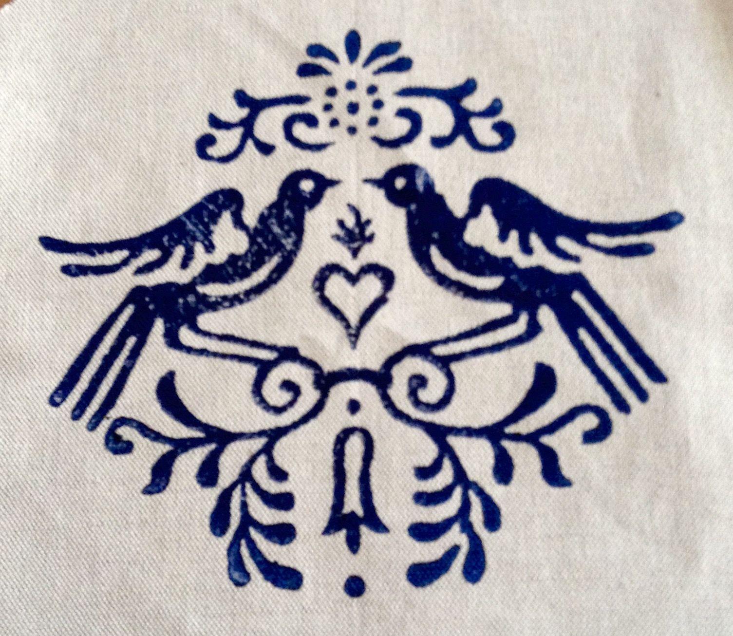 Pin by Dilians Handtaschen und mehr aus Blaudruck on Blaudruck ...