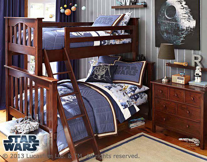 Star Wars Millenium Falcon Bedroom Full Bunk Beds Kid