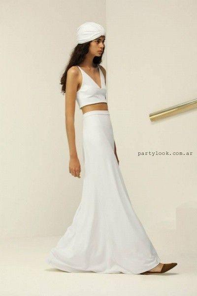 e76a20c07 Maria Cher – moda de fiesta en blanco primavera verano 2016