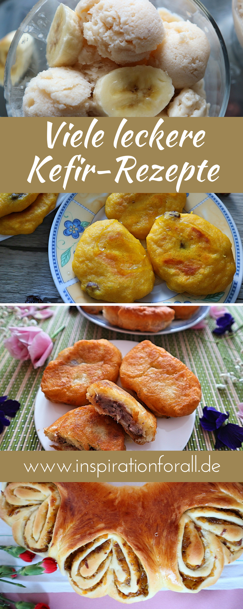 Kefir Rezepte – von Blini, über Tworog bis Eiscreme #vegetarischerezepteschnell
