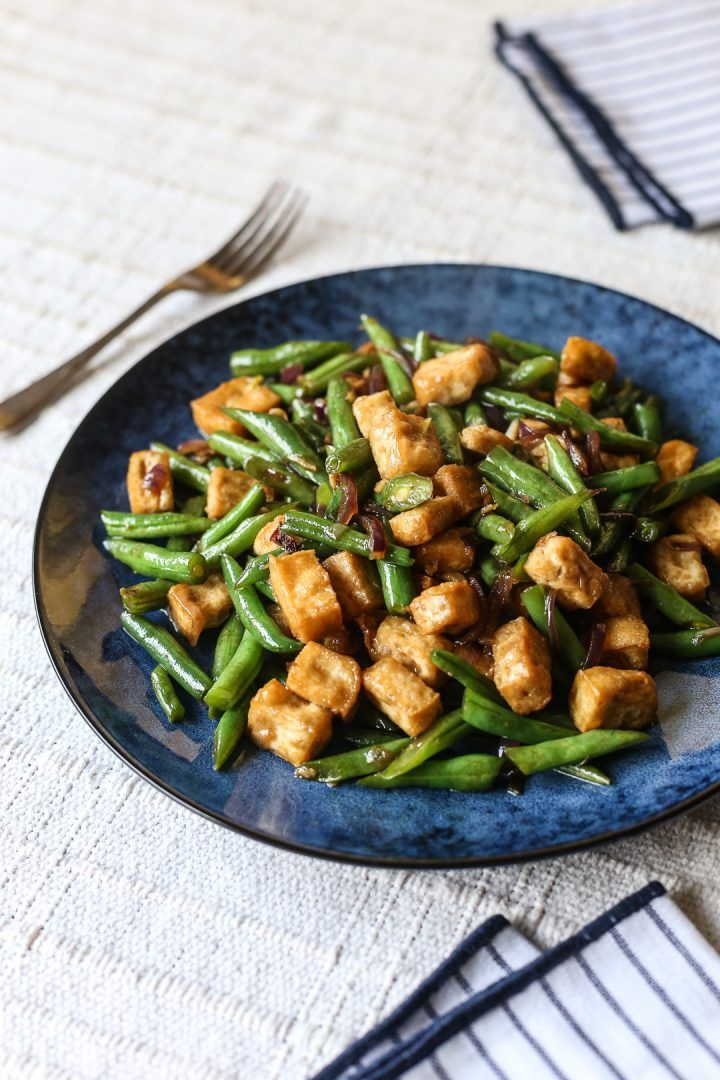 Photo of Tofu Green Bean Stir Fry – Ang Sarap