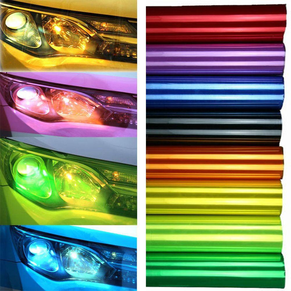 120cm 12 X 47 Chameleon Color Changing Tint Vinyl Wrap Sticker Headlight Film Car Light Lamp Light Accessories Car Headlights Vinyl Wrap [ 1001 x 1001 Pixel ]