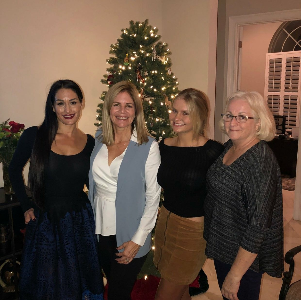 Nikki Bella, Kathy Colace, John Laurinaitis Daughter, Family | The ...