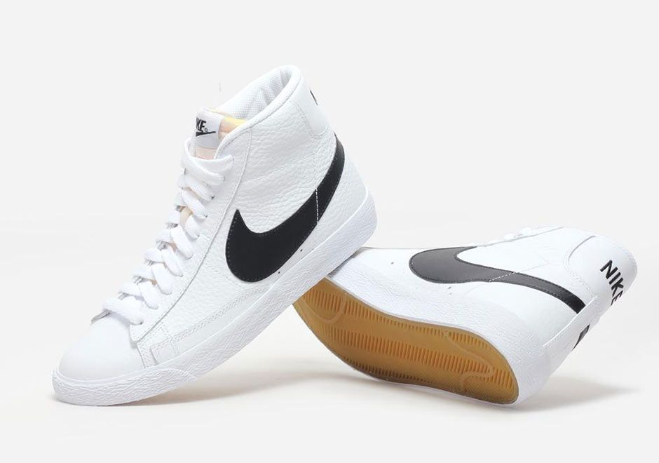 The OG White and Black colorway on the Nike Blazer Mid is making a return!