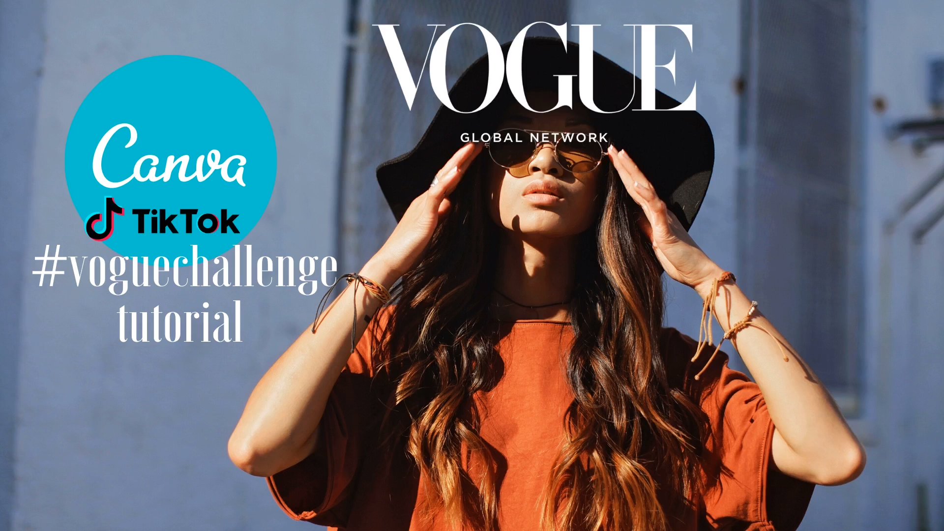 Canva Step By Step Vogue Challenge Tutorial Vogue Magazine Covers Canva Tutorial Vogue