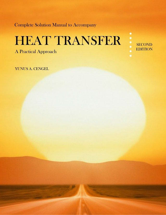 Heat transfer cengel solution manual pdf heat transfer pdf and books fandeluxe Gallery