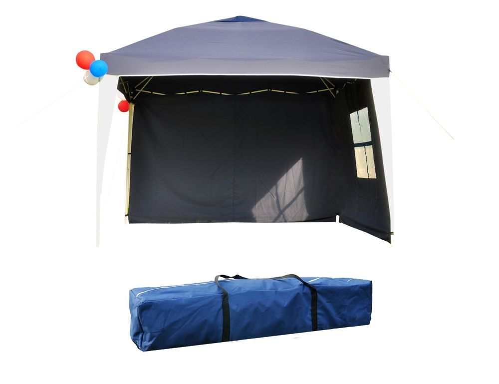 10 X10 Ez Pop Up Tent Canopy Heavy Duty Outdoor Party Tent W Sides Xmas Event Canopy Tent Party Tent Camping Canopy
