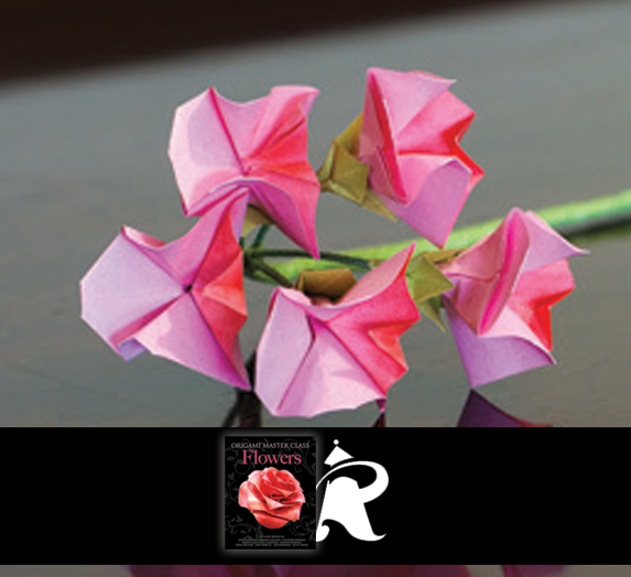 This origami sweet pea flower is designed by john blackman and is this origami sweet pea flower is designed by john blackman and is in origami master class flowers which includes models by john blackman mightylinksfo