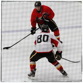 Calgary Flames training camp 7.