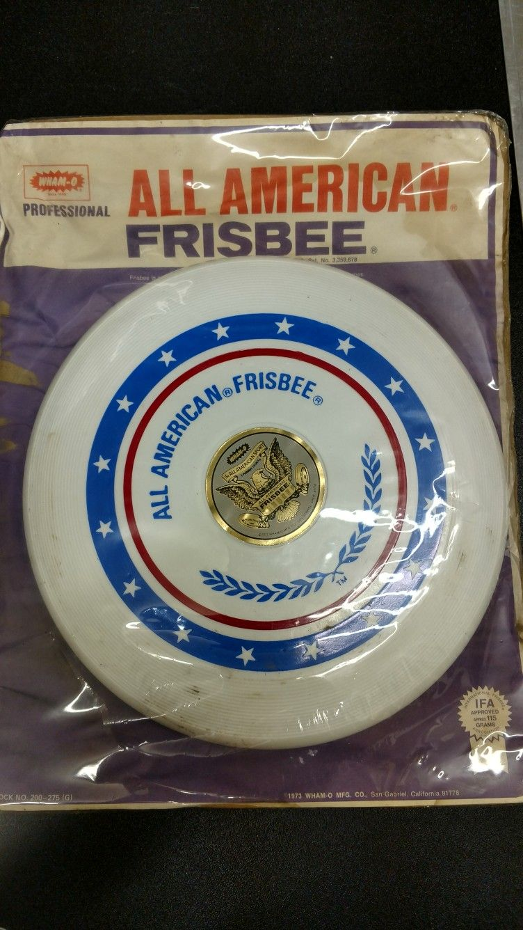 Wham0 Frisbee All American 1, NOS 1973. Thank you