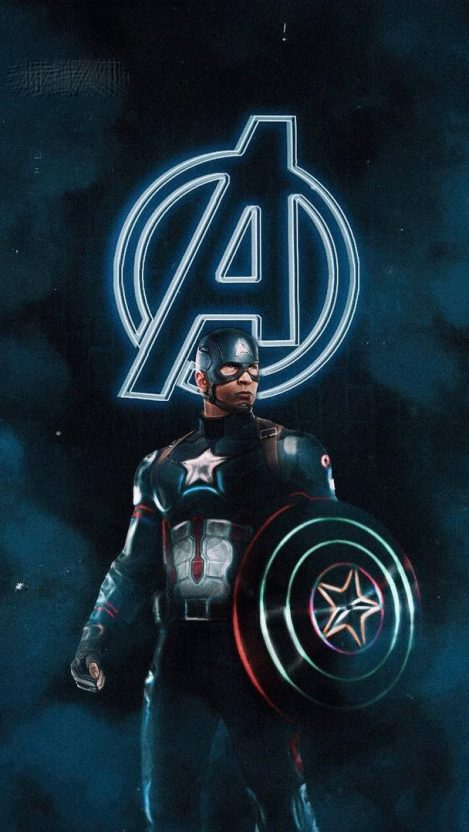 Captain America The Oldest Avenger iPhone Wallpaper
