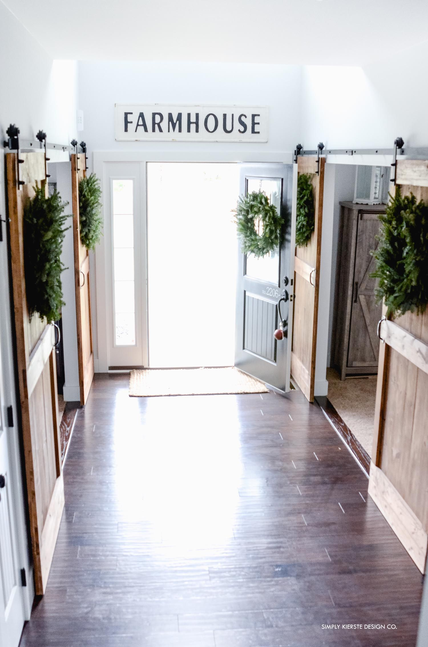 Old Salt Farm Christmas Home Tour 2017 | Farming, Farmhouse style ...