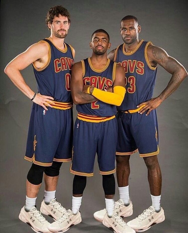 Kevin Love Kyrie Irving and LeBron James | my favorite