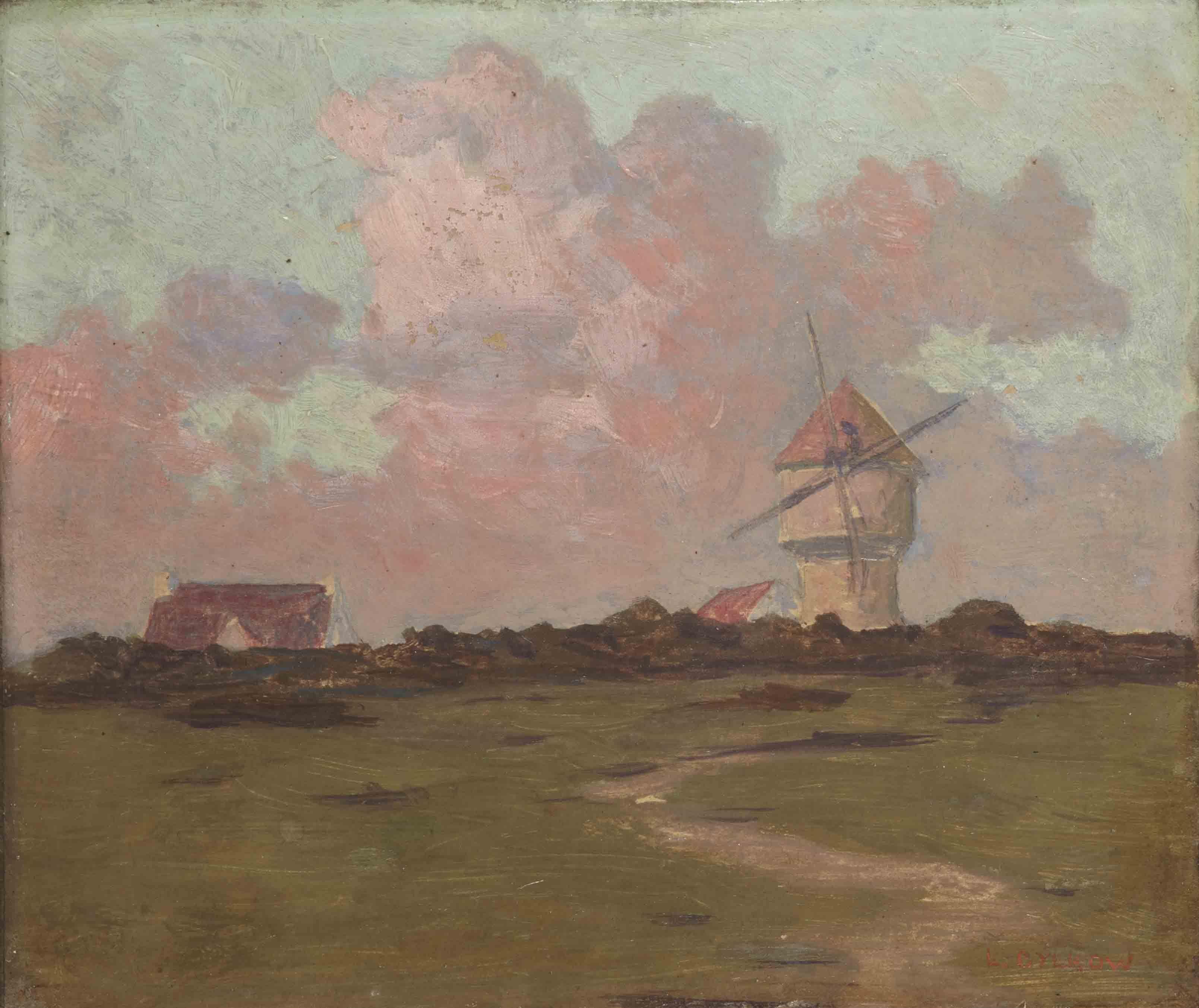 Ludwig Cylkow (1880-1934), polish painter